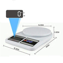 Load image into Gallery viewer, Multipurpose Portable Electronic Digital Weighing Scale Weight Machine (10 Kg - with Back Light)