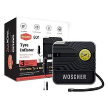 Load image into Gallery viewer, Woscher 801 Rapid Performance Portable Tyre Inflator (12V) with LED Light