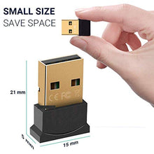 Load image into Gallery viewer, Ultra-Mini Bluetooth CSR 4.0 USB Dongle Adapter (Black Golden)