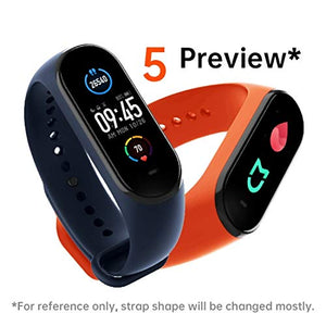 2020 Waterproof M5 Smart Band Fitness Tracker Watch Heart Rate Activity Tracker, Blood Pressure, Oximeter and lots more