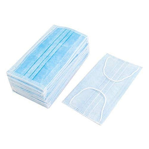Non Woven Elastic Ear-Loop Disposable Face Mask (Pack of 100)