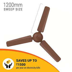 Atomberg Efficio 1200 mm Ceiling Fan with Remote Control