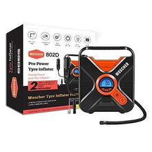 Load image into Gallery viewer, Woscher Pro Power 802D Digital Car Tyre Inflator with Digital Display, Auto Shutoff