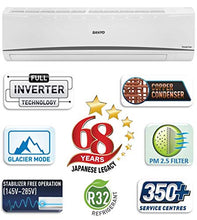 Load image into Gallery viewer, Sanyo 1.5 Ton 3 Star Dual Inverter Split AC