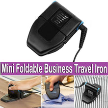 Load image into Gallery viewer, Lightweight Foldable Mini Travel Iron For Ironing Clothes KoolGadgets