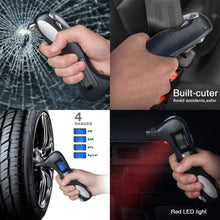 Load image into Gallery viewer, iGADG 5 in 1 Portable Digital Tyre Pressure Gauge Emergency Tool KoolGadgets