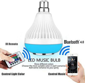 LED Speaker Light Bulb with Bluetooth And Remote Control