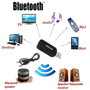 Car Bluetooth Wireless Music Receiver Dongle