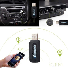 Load image into Gallery viewer, Car Bluetooth Wireless Music Receiver Dongle