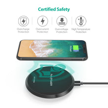 Load image into Gallery viewer, RAVPower Qi Certified Wireless Charger KoolGadgets