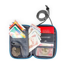 Load image into Gallery viewer, Travel Neck Passport Cover Over Security Credit ID Card Holder Cash Wallet Purse Organizer Bag KoolGadgets