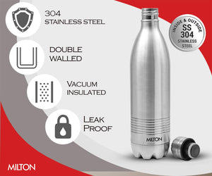 Milton Duo 1 litre Thermosteel 24 Hours Hot and Cold Water Bottle