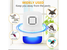 Load image into Gallery viewer, Electronic Ultrasonic Repeller for Rats Rodent Chooha and Pest Repeller KoolGadgets