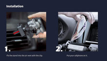 Load image into Gallery viewer, 360 degree Rotary Car Mount Air Vent Phone Holder KoolGadgets