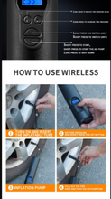 Load image into Gallery viewer, Mini Wireless Car Tyre Inflator with in-built battery