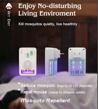 Load image into Gallery viewer, First time in India - Mosquito Killer Device With Ultrasonic Pest Repellent Function