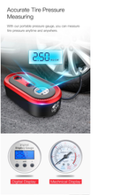 Load image into Gallery viewer, Portable Car Tyre Inflator with Emergency Light