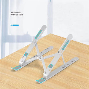 Aluminum Alloy Portable Foldable Laptop Holder Stand