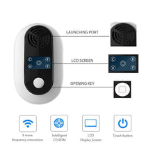 Load image into Gallery viewer, Ultrasonic Multi Frequency Pest Repeller KoolGadgets