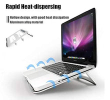 Load image into Gallery viewer, Portable Fold-able Notebook Laptop Cooler Desk Table Stand Holder KoolGadgets
