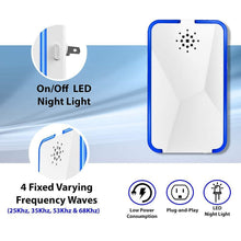 Load image into Gallery viewer, Ultrasonic Pest Repellent with LED Night Light KoolGadgets