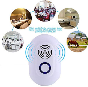 Pest Control Device, Ultrasonic Pest Repeller Insect Repellent Electronic - Oval KoolGadgets
