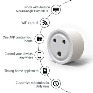 WiFi Smart Plug for Home Automation with Timer Schedule Control and App Control KoolGadgets