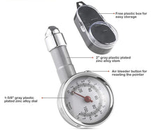 Load image into Gallery viewer, Analog Tyre Pressure Gauge / Meter For Car And Bike
