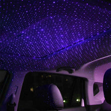 Load image into Gallery viewer, USB Decorative Star Night Projector Light for Car