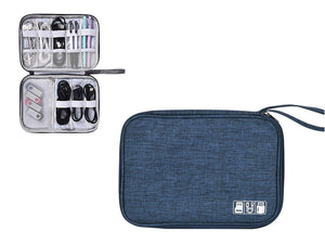 Universal Travel Portable Digital Cable Storage Organiser Bag KoolGadgets