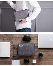 Load image into Gallery viewer, Universal Travel Portable Digital Cable Storage Organiser Bag KoolGadgets