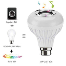 Load image into Gallery viewer, LED Speaker Light Bulb with Bluetooth And Remote Control