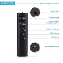 Load image into Gallery viewer, 3.5 mm Car Bluetooth Device stereo adapter KoolGadgets