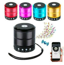 Load image into Gallery viewer, Mini Portable Bluetooth Speaker Wireless Stereo - Multicolor