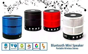 Mini Portable Bluetooth Speaker Wireless Stereo - Multicolor