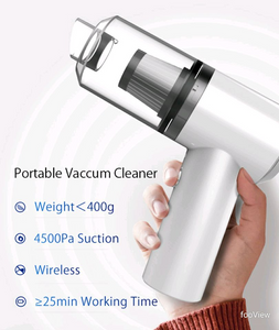 High Suction Portable Cordless Vacuum Cleaner for Car and Home