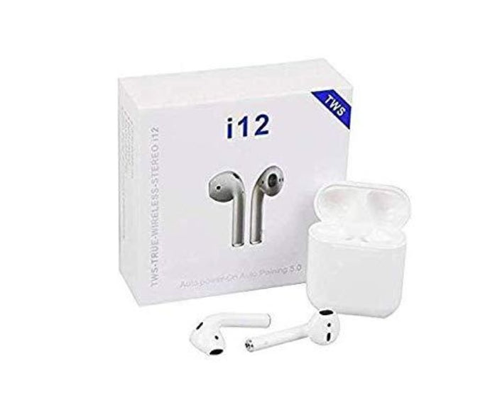 i12 TWS Wireless Earpod Headphone for All Smartphones KoolGadgets