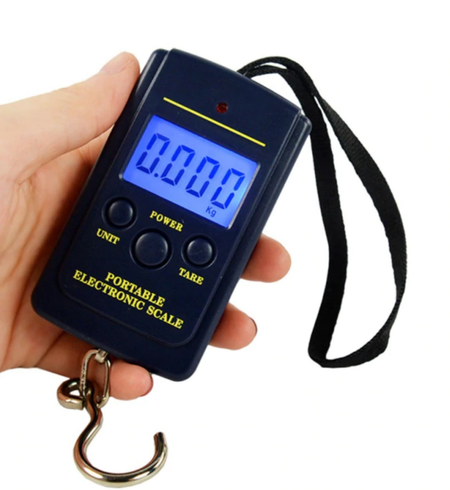 40kg Mini Digital Luggage Weighing Scale with Battery