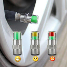 Load image into Gallery viewer, Car Tyre Pressure Sensor Valve Caps (Pack of 4)