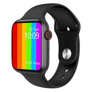 W34+ Smart Health Watch With Body Temperature & ECG Heart Rate Function