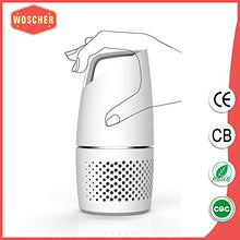 Load image into Gallery viewer, Woscher Car Air Purifier with True HEPA Air Purifiers Filter and USB Charging
