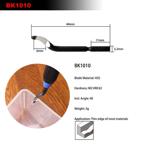 Fine edge BK1010 blade & trimming device for all materials
