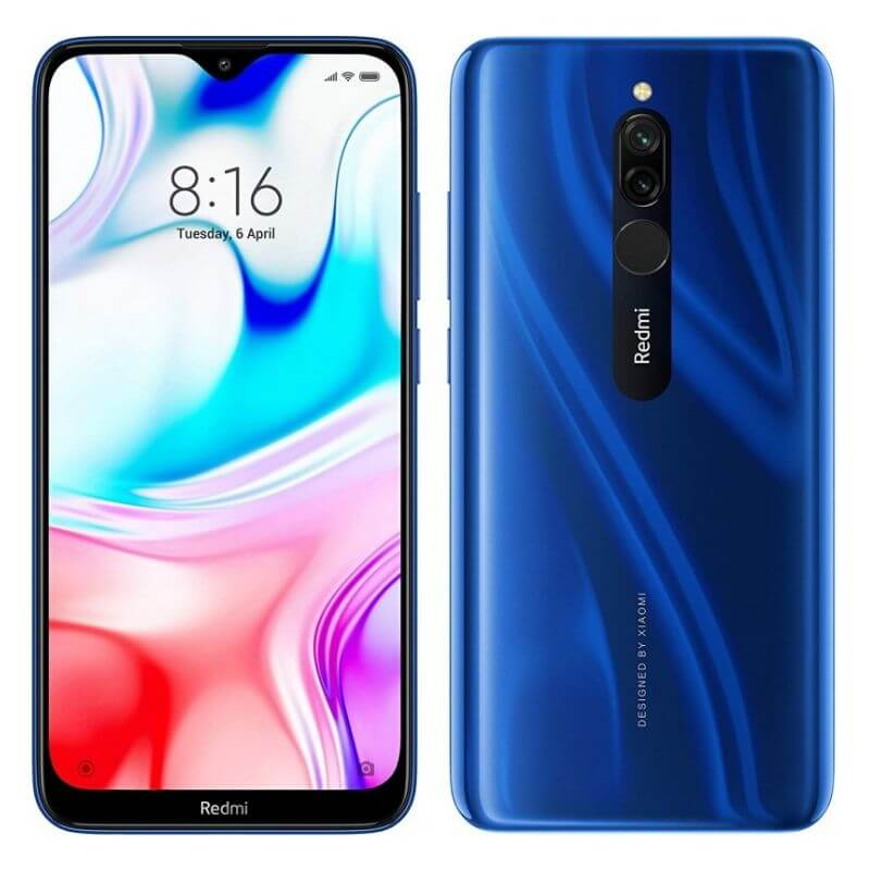 Xiaomi Redmi 8 - 2SIM - 32/64GB ROM - 3/4GB RAM - 12+2MP