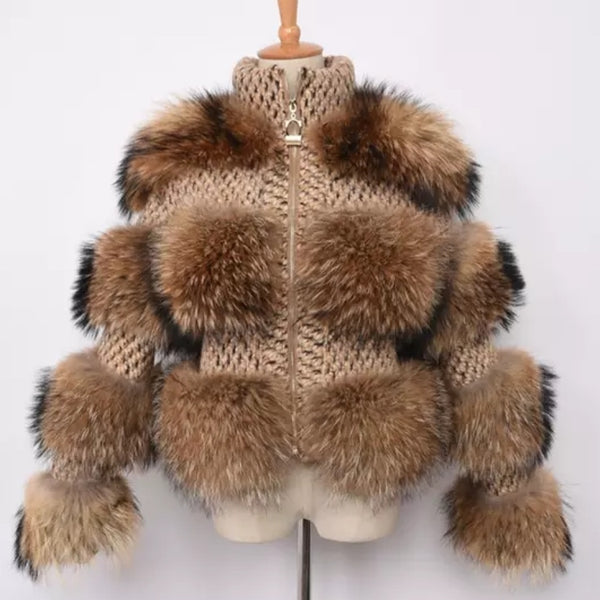 Racoon knitted