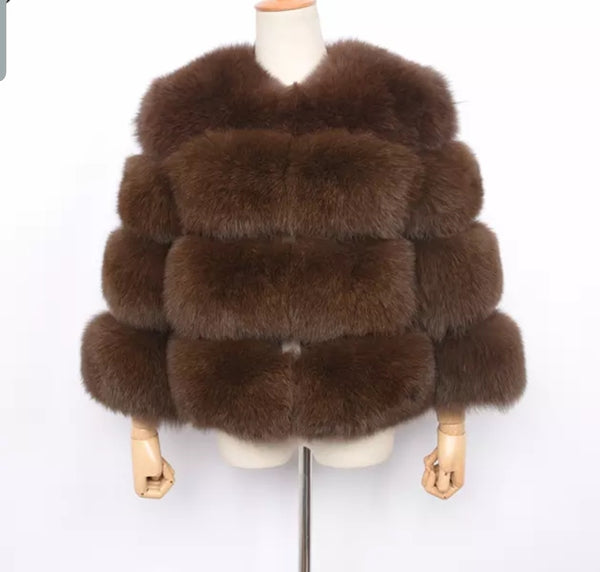 Fox fur 4 row