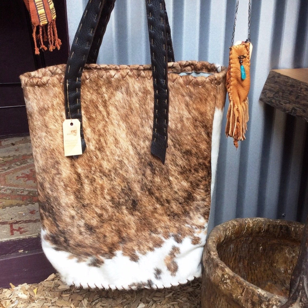 Tote Bag Argentinean Cow Hide