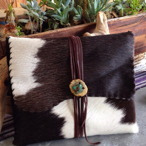 Cowhide I-Pad Sheath