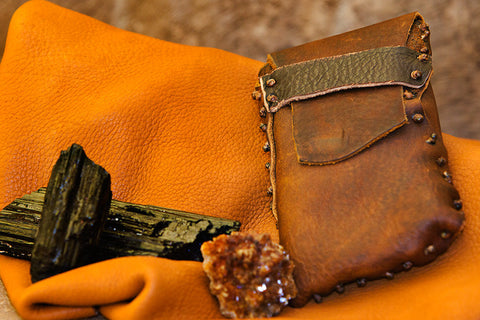 Rustic Hip Satchel
