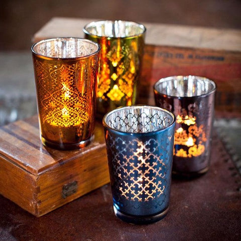 Moroccan Tea Light Candle Holders