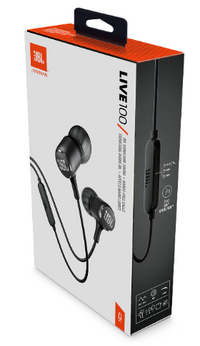 JBL LIVE 100 In-Ear Headphone with deepbass